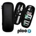 電子タバコ マイブルー myblu ケース PUレザー ロングタイプ スリム コンパクト 大容量 バッテリー対応 VAPE等使用可 カーボン調 ポケットに入る