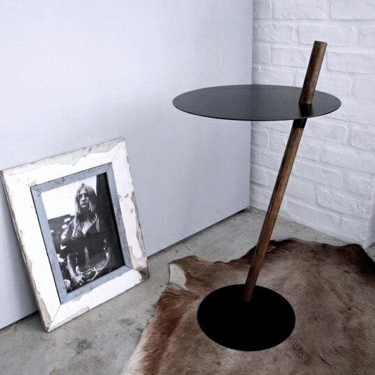 DUENDE/デュエンデ TUBE&ROD oil stain finished White Blackサイドテーブル軽家具デザイナーズ家具インテリアリビング送料無料