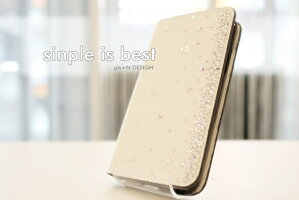 iphoneXperiaGalaxyスワロフスキー手帳型カバー全機種対応人気のくすみカラーやカラフルな選べる散らしデザインスマホカバーデコレーションスマホケーススマホカバー