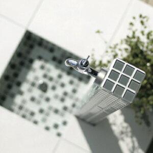 【立水栓ユニット】モゼック+パンセット(グレーミックス)