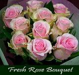 """◆【送料無料】《ピーチセレナーデ》""""極上の洗練された!大人ピンクの大輪バラ""""を味わう♪【ローズ・フレッシュブーケ・セレクション】《個人・法人・企業・団体・ビジネス・ショップ・オフィス》フラワーギフト"""