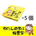 選べるエコパック 250g5個セット[ぷらむ工房 岩本食品]