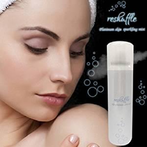 リシャッフル 炭酸スプレー美容液 男女兼用 ミスト 美容 健康 スキンケア 肌ケア
