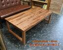 天然木 ローテーブル 引き出し付き 幅120cm オーダーメイド テーブル 北欧 おしゃれ アンティーク 木製 無垢 パイン カフェ ハンドメイド