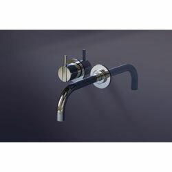 CERA洗面水栓PuraVida湯水混合栓HG15070S-40【ホワイト&クロム】
