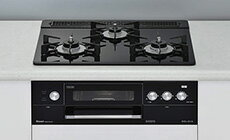 リンナイガスコンロ【RHS31W15G11R3-BW】DELICIA3V乾電池タイプ標準幅60タイプ