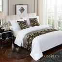 ベッドスロー ベッドライナー フットライナー フットスロー 布団カバー ホテル寝室 旅館 民泊 民宿 セミオーダー可能 br-0240 新生活
