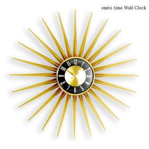 emits time ウォールクロック(壁掛け時計/クロック/エミッツタイム/北欧/ギフト/プレゼント)
