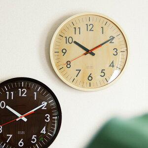 IDEA・LABEL 電波ウッドウォールクロック(壁掛け時計/電波時計/IDEA LABEL/イデアレーベル/シンプル/北欧/IDEA・LABEL/見やすい/木製/ギフト/プレゼント)