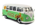 Motor City Classics(モーターシティクラシックス) Coca-Cola (コカコーラ) 1/43 VW(フォルクスワーゲン) T1 サンバ バス 1959 フラワー