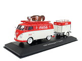 MotorCityClassics(モーターシティクラシックス)Coca-Cola(コカコーラ)1/43VW(フォルクスワーゲン)コンビT11960トレーラー付