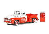 MotorCityClassics(モーターシティクラシックス)Coca-Cola(コカコーラ)1/24フォードF-100ピックアップ1955自販機アクセサリー付