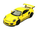 ixo(イクソ)1/43ポルシェ911(991)GT3RS2017イエロー