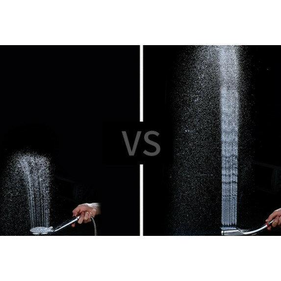 増圧 節水 シャワーヘッド 強力水圧 水圧アップ 水流 節水シャワーヘッド 増圧シャワーヘッド 極細水流