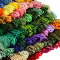 刺繍糸 刺しゅう糸 セット 100束セット 編み物 ステッチ ミサンガ クロスステッチ まとめ買い
