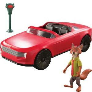 ディズニー ズートピア なかよしコレクション ニックのオープンカー タカラトミー [おもちゃ] プレゼント