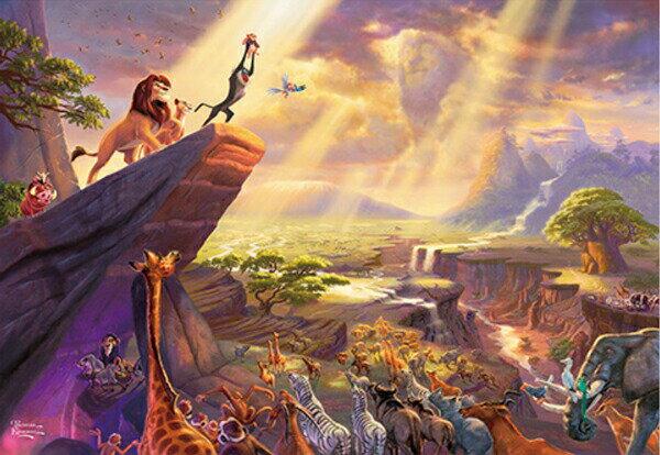 パズル, ジグソーパズル 1000 Thomas Kinkade The Lion King 51x73.5cm D-1000-046 Tenyo