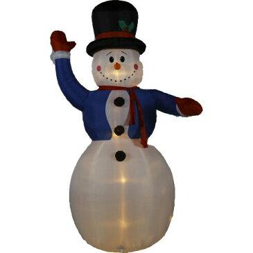 【送料無料】エアーディスプレイ NEWジャンボスノーマン WG-4532 友愛玩具 〔クリスマスイルミネーション〕