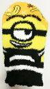 キッズ耳付もこもこソックス ミニオンズバナナ 13-18cm MMS0028 ジェイズプランニング キャラクター くつした 靴下