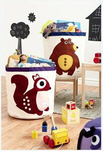 【送料無料】 ストレージビン ベアー D01010309 3Sprouts スリースプラウツ おもちゃ 収納 おもちゃ箱 プレゼント