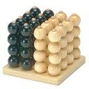 立体4目並べ W-250 木のおもちゃ 平和工業 立体パズル おもちゃ プレゼント