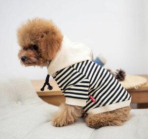送料無料 犬服 ドッグウェア パーカー 飼い主とお揃い ボーダー柄 フード 犬用品 ペット用品 犬 いぬ ドッグ 小型犬 中型犬 大型犬 フレンチブルドッグ フレブル 可愛い かわいい かっこいい おしゃれ オシャレ カーキ ブラック ホワイト 黒 白