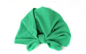 ターバン ニット帽 ベビー 新生児 出産祝い 帽子 ヘアバンド ニットキャップ 男女兼用 インド風帽子 結び目 赤ちゃん 被り物 無地 赤 ピンク 可愛い
