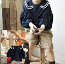 送料無料カットソー トップス バルーン袖 長袖 プルオーバー ラウンドネック 襟つき 子供 子ども こども 子供服 キッズ 女の子 女児 可愛い かわいい カジュアル おしゃれ オシャレ 90 100 110 120 130