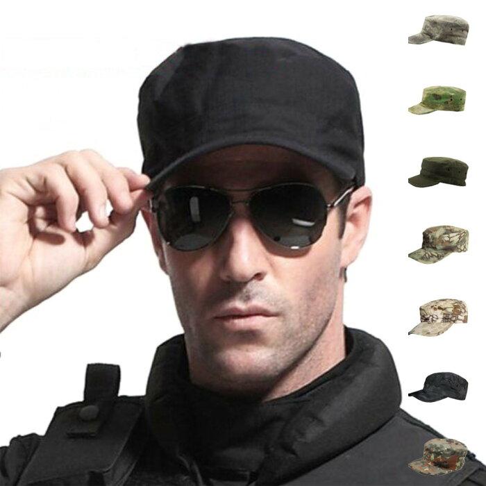 送料無料SWAT 特殊部隊 ミリタリーキャップ ワークキャップ サバゲー サバイバル 装備 帽子 戦闘服 迷彩柄 カモフラージュ メンズ レディース 男女兼用