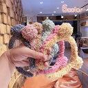 送料無料カチューシャ キッズ 子供 女の子 ヘアアクセサリー 髪飾り ファッション小物 モコモコ クマ耳 アニマル 動物 かわいい 秋冬