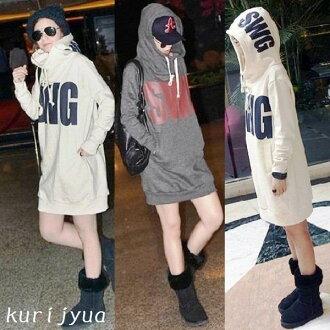 Warm ★ selenge system ★ back brushed BIG logoperkirwan piece ★ LL ~ 5 L / women's / outer / long-length hoodies / tops / sweatshirts