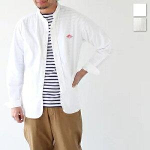 ダントンオックスフォード バンドカラーシャツ (JD-3607 YOX) SHIRTS OXFORD L/S BC DANTON(メンズ) 【2021春夏ダントン】*送料無料* 【後払い決済不可】*