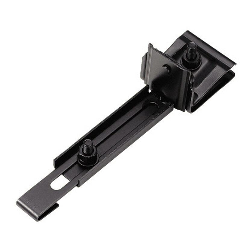 【36個入】スノーZ用 取付金具 D409 横葺用 高耐食鋼板 ブラック 2型 0189140 雪止金具 屋根 降雪 金具 スワロー D