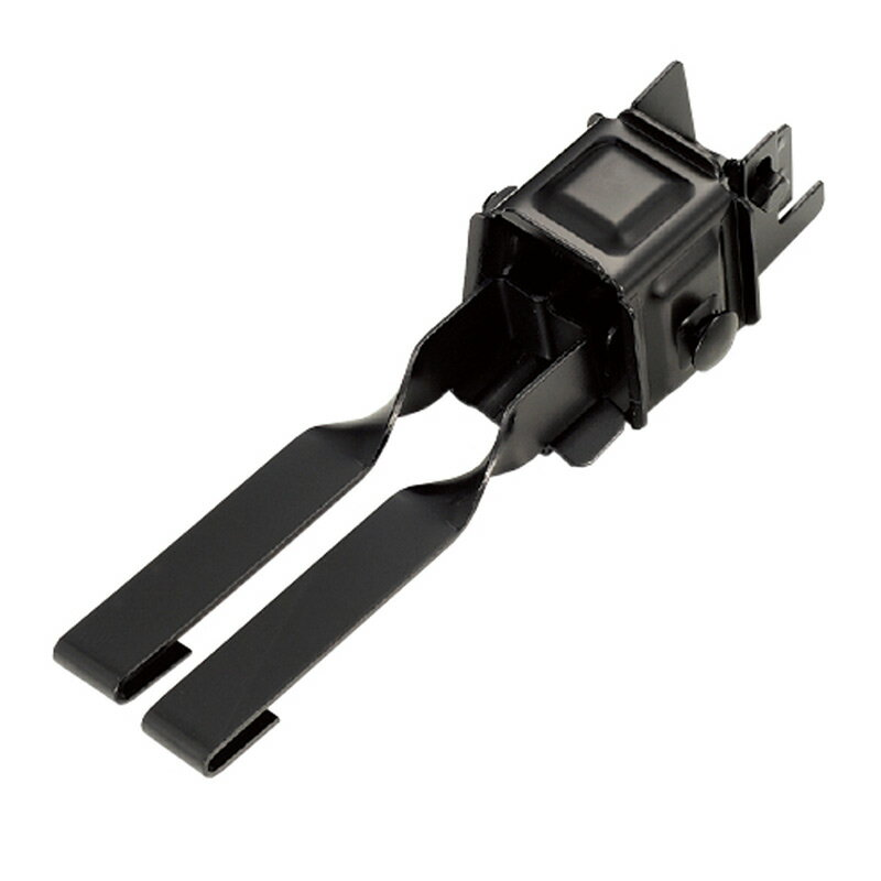 【36個入】スノーZ用 取付金具 D410 三晃式 瓦棒W取付 高耐食鋼板 ブラック 0189370 雪止金具 屋根 降雪 金具 スワロー D