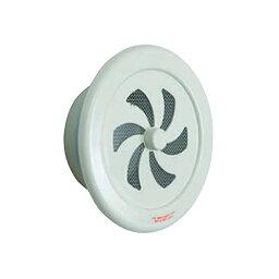 【代引不可】【36個】丸型レジスター 100φミルキーホワイト塗装 UK-RN100S-MW [塩ビパイプにはめ込み、建物内部に取付ける換気金物] カネシン アミ
