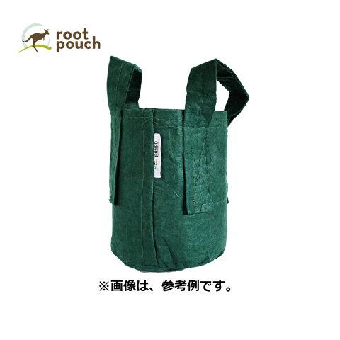 ルーツポーチ Root Pouch #2 Forest 持手あり W21cm H21cm 約 8L 非生分解性タイプ 不織布 鉢 植木鉢 おしゃれ お洒落 オシャレ 三冨D