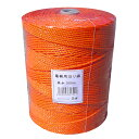 電柵用撚り線 3線・ステンレス 500m 1巻 オレンジ より線 電気柵 ロープ シNZ