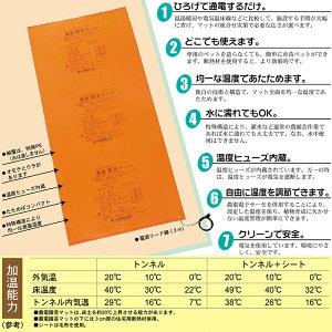 農電マット1-306(家庭用100v150w0.9×1.8m0.5坪)農電園芸マット電気マット園芸マット暖房マット温床マット農業用