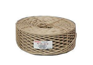 ロープシリーズペーパーコード K5005 クラフト色 5mm×200m いす用紙ひも