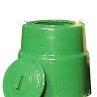 【北海道不可】コラポン 生ゴミ処理器 容量:200リットル サンポリ【代引不可】