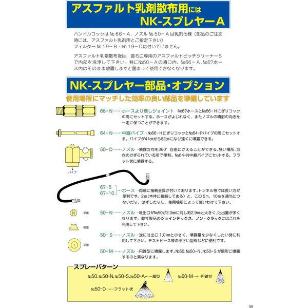 [NKスプレヤーA NKスプレイヤーA] ノックス NK-スプレヤーA 噴霧器 アスファルト乳剤散布用