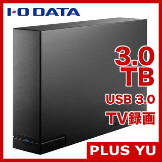 【送料無料】IODATAHDC-LA3.0USB3.0/2.0対応超高速外付ハードディスク3.0TB【在庫目安:あり】