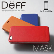 DeffGenuineLeatherCoverMASKforiPhone6PlusDCS-CIP6PGL