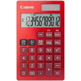 Canon 1481C003 電卓 KS-12T (赤)【在庫目安:お取り寄せ】| 事務機 電卓 計算機 電子卓上計算機 小型 演算 計算 税計算 消費税 税