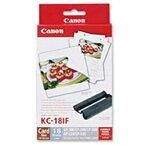 【送料無料】Canon 7741A001 メーカー純正 カラーインク/ フルサイズラベルセットKC-18IF【在庫目安:お取り寄せ】
