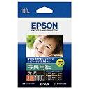 【在庫目安:あり】【送料無料】EPSON KL100PSKR 写真用紙<光沢> (L判/ 100枚)