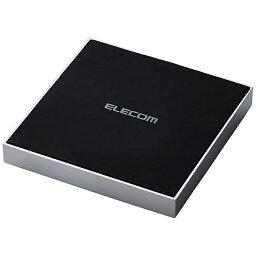 【送料無料】ELECOM W-QA11SV Qi規格対応ワイヤレス充電器/ 5W/ 10W/ 卓上/ メタル筐体/ シルバー【在庫目安:お取り寄せ】