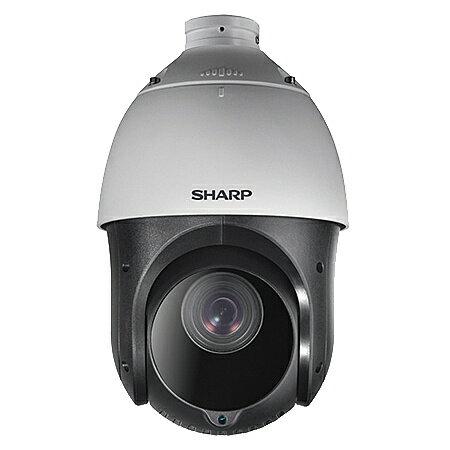 【送料無料】SHARP YK-P041G 業務用ネットワーク監視カメラ PTZタイプ4M 25倍ズーム【在庫目安:お取り寄せ】  カメラ ネットワークカメラ ネカメ 監視カメラ 監視 屋外 録画