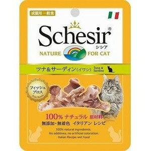 Sissa 袋金槍魚和沙丁魚 (沙丁魚) 70 g 成年貓 ○