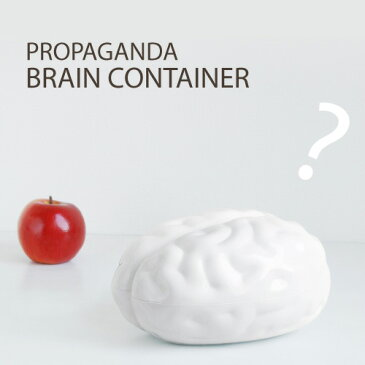 【あす楽14時まで】 Propaganda BRAIN CONTAINER ブレインコンテナ [ 小物入れ ふた付き ]◇デザイン plywood オシャレ雑貨